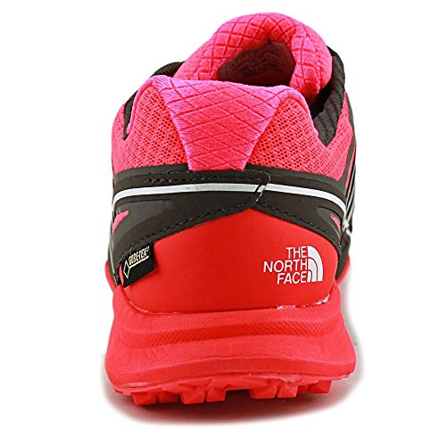 The North Face W Ultra Mt Gtx, Scarpe da Trail Running Donna Rosso (Rcktrd/Dkgllgry)