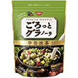 Nisshin - Chunky Japanese Granola with Kyoto Uji Matcha Green tea Flavor 200g (7.05oz) : Japan Imported [Standard ship by SAL: NO Tracking & Insurance]