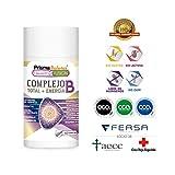 Potente y Completo Complejo B - Vitaminas B1, B2, B3, B5, B6, B9 y B12 - Fortalece el Sistema Inmunológico - Aporta Energía - Protege el Sistema Cardiovascular y Mantiene la Salud Cerebral - 60 caps