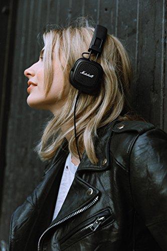 Marshall Major III On-Ear Headphones (Black) Image 9