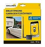 Schellenberg 60999 Garagentoröffner und Außentoröffner für Smartphone: Funk-Empfangs-Modul & kostenlose App, Antriebe