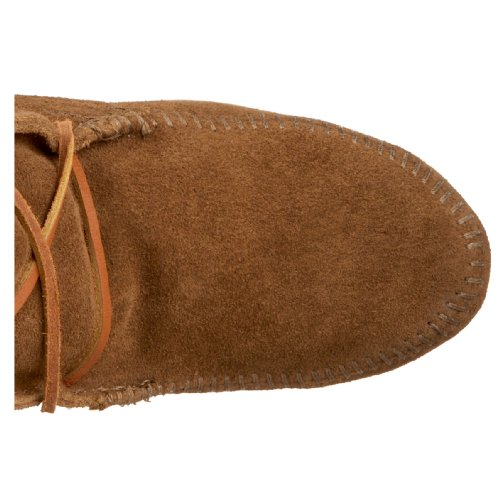 Minnetonka Front Knee Hi, Bottes Indiennes Femme Marron (Dusty Brown)