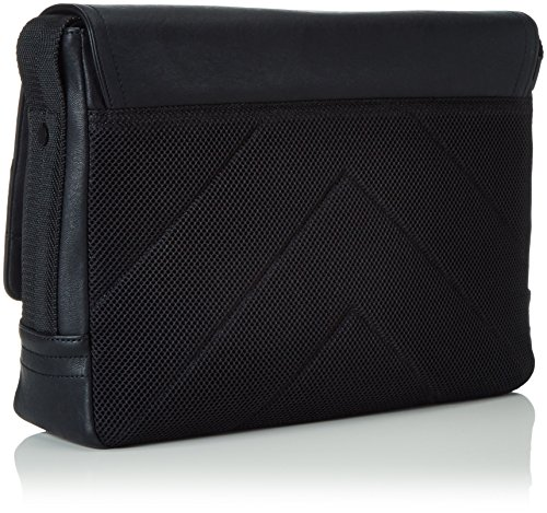 Calvin Klein Jeans Speed Uomo Shoulder Bag Nero Nero (BLACK 001 001)