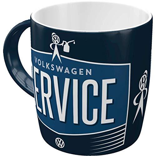 Nostalgic-Art 43034 Retro Kaffee-Becher Volkswagen - VW Service & Repair, Große Lizenz-Tasse mit...