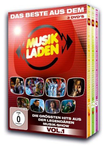 Various Artists - Das beste aus dem Musikladen, Vol. 1 [3 DVDs]