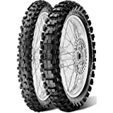Pirelli Scorpion MX eXTra X Tire - Rear - 120/90-19 , Position: Rear, Tire Size: 120/90-19, Rim Size: 19, Load Rating: 66, Speed Rating: M, Tire Type: Offroad, Tire Application: Intermediate 2133600 by Pirelli