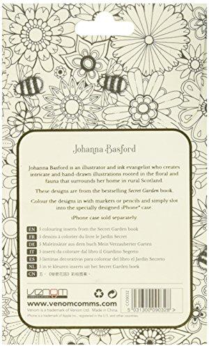 Johanna Basford telefono cellulare custodia per iPhone 6/6S-Secret Garden