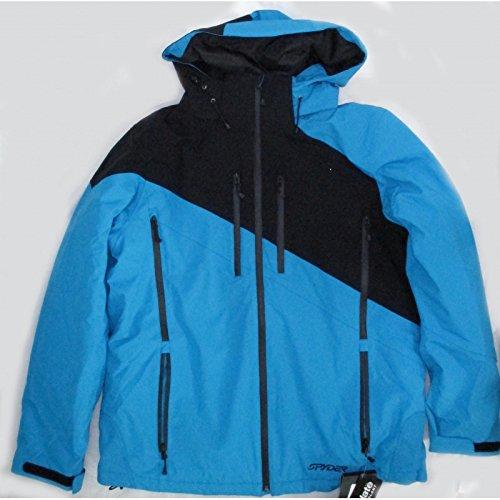 Jacke Skifahren junior Spyder Enforcer blau/schwarz 2016/2017 Nr30 - 18 Jahre