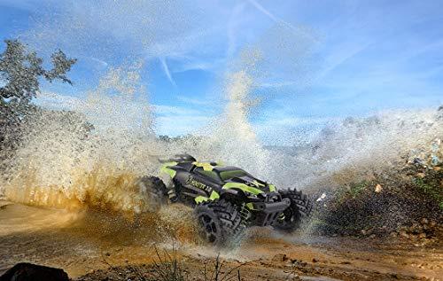 RC Auto kaufen Truggy Bild 5: Overmax X-Monster 3.0 Monster Truck ferngesteuertes RC Auto - unglaubliche 45 km/h schnell - 1:18 Maßstab - 2 Akkus - Allrad - 100m Reichweite- Buggy*