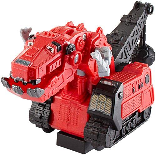 Mattel CJV91 - Dinotrux Rückzieh-Fahrzeug T-Rux