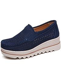 Suchergebnis Auf Amazon De Fur Plateauschuhe Damen Blau Schuhe