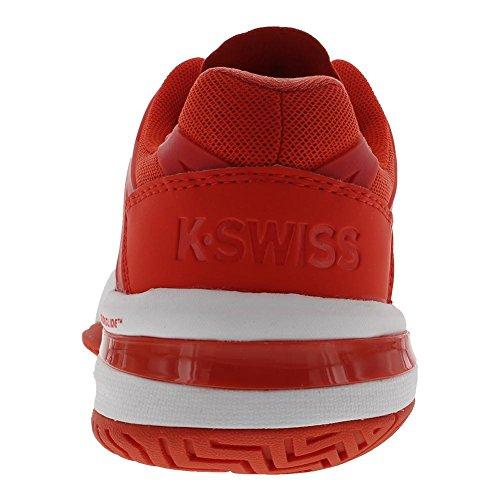 K-Swiss Performance Damen Ultrashot Tennisschuhe Rot (Fiesta/White 812m)