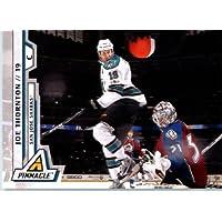 2010 /11 Pinnacle Hockey Card # 37 Joe Thornton San Jose Sharks In a