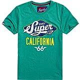 Superdry Herren T-Shirt Reworked Classic Cali Tee
