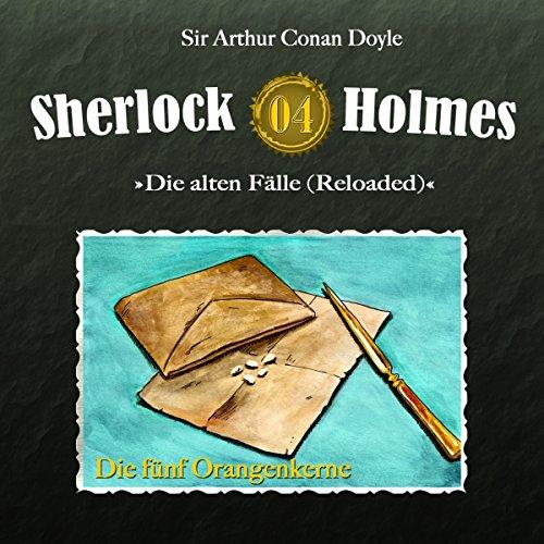 Buchseite und Rezensionen zu 'Die fünf Orangenkerne Sherlock Holmes - Die alten Fälle 4' von Arthur Conan Doyle