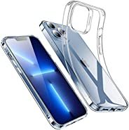 ESR Clear Case Compatible with iPhone 13 Case, Crystal-Clear Shockproof Thin Silicone Case, Yellowing-Resistan