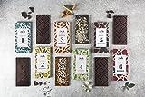 Organisch Veganes Schokoladen-Geschenksortiment 6 Geschmacksrichtungen