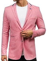 BOLF Herren Sakko Sweatjacke Herrensakko Anzug Modern Classic Blazer Slim Fit