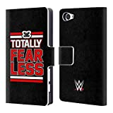 Head Case Designs Offizielle WWE Nikki Bella Totally Fearless 2018/19 Superstars 4 Brieftasche Handyhülle aus Leder für Sony Xperia Z5 Compact