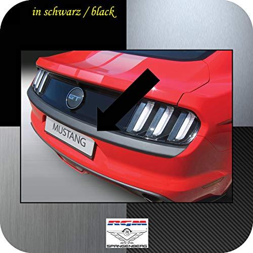 Richard Grant Mouldings Ltd. RGM Protection de seuil de Chargement pour Ford Mustang VI Coupé et Cabriolet année de Construction 01.2015-12.2017 (Version Longe) RBP668 Noir