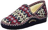 Nordikas Classic, Zapatillas de Estar por casa para Mujer, Azul (Marino), 39 EU