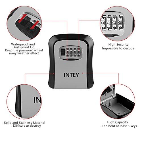 Zoom IMG-1 intey cassetta sicurezza chiavi esterno