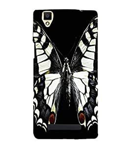 A2ZXSERIES Butterfly Design Back Case Cover for Oppo F1