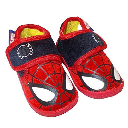 Spiderman pantofole ciniglia bambino originali marvel webki63a (blu-red, 19)