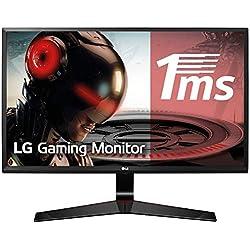 LG 24MP59G-P Ecran PC LED IPS - 24'' - 1920 x 1080 - 250cd/m² - 1ms (avec Motion Blur Reduction) - Noir - VGA, HDMI, DP