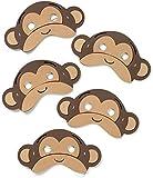 Teaching Resource Sack - 5 Jumping Monkeys Song Mask Set