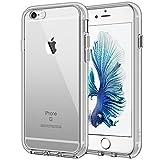 JETech Hülle für Apple iPhone 6s Plus iPhone 6 Plus, Schutzhülle mit Anti-kratzt Transparente und Rückseite, Grau