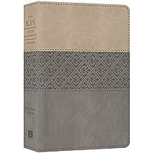 The KJV Cross Reference Study Bible: King James Version Reference Study, Gray