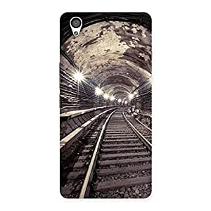 NEO WORLD Premium Track in Tunnel Back Case Cover for OnePlus X