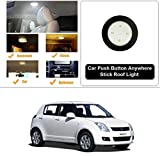 #7: AutoStark Car Push Button Anywhere Stick Roof Light / Car Trunk Light/ Car Reading Light For Maruti Suzuki Swift