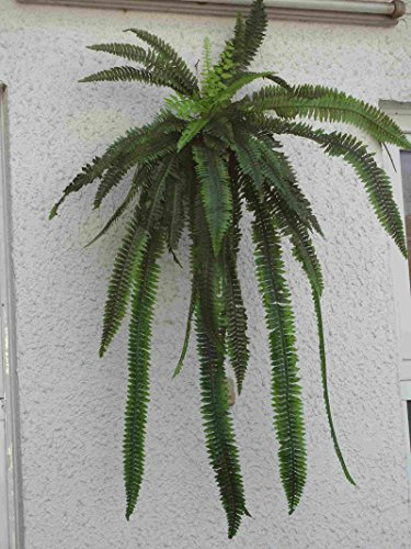 künstliche Farnpflanze 120cm.x48 Wedel.