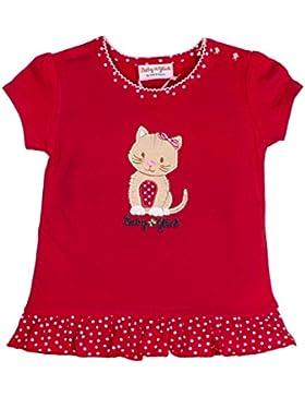 SALT AND PEPPER Baby-Mädchen T-Shirt Bg Uni Rüschen