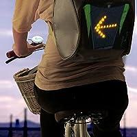 Calli Señal del control remoto bici bicicleta LED luz de la señal de seguridad