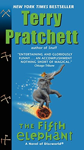 Book cover for The Fifth Elephant