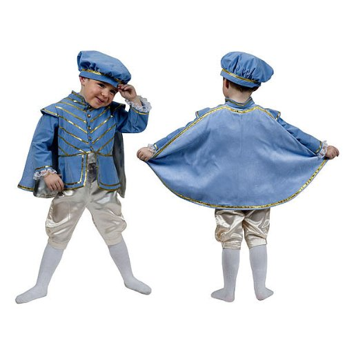 Kostümplanet® Prinzen-Kostüm Kleiner Prinz für Kinder Prinzen-Kostüm Jungen Prinz-Kostüm Größe 98