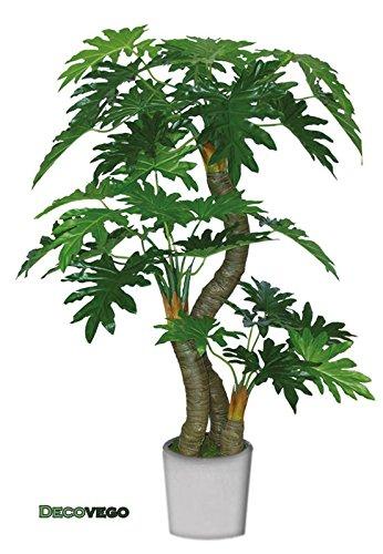Decovego Philodendron Baumfreund Kunstpflanze Kunstbaum Künstliche Pflanze 190cm