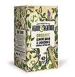 HEATH & HEATHER - Infusión Orgánica de Melissa y regaliz - Relajante, Cafeína Libre - 20 filtros