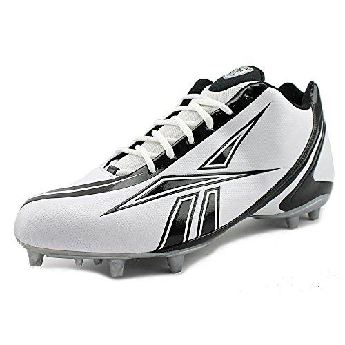 Reebok NFL Burner Speed 5/8 SD3 Leder Klampen White/Black