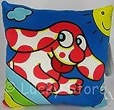 Peluche Cuscino Quadrato Pimpa 38 cm Arcobaleno