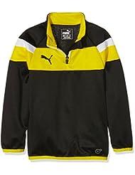 Puma Spirit II T-shirt/Top d'entraînement à manches longues pour enfant Fermeture zippée au col