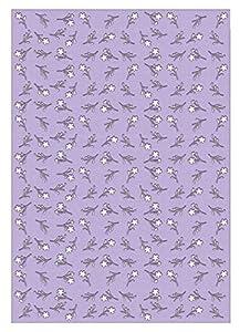 Ursus 60950006 Silhouetten - 10 Hojas de cartulina fotográfica, 300 g/m², Aprox. 23 x 33 cm, para decoración, Paquete de Regalo y diseño de Tarjetas, Color Lila