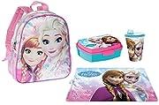 Corredo scuola Asilo di Frozen Magic Anna e Elsa