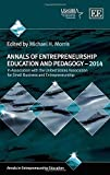 Annals of Entrepreneurship Education and Pedagogy 2014 (Annals in Entrepreneurship Education series) by Michael H. Morris (2014-12-31)