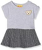 Steiff Baby-Mädchen Kleid o. Arm, Grau (Softgrey Melange 8200), 68