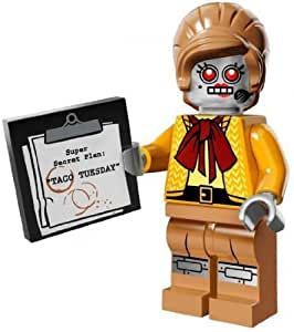 LEGO Minifigure Collection LEGO Movie Series LOOSE Velma Staplebot by Lego TOY (English Manual)