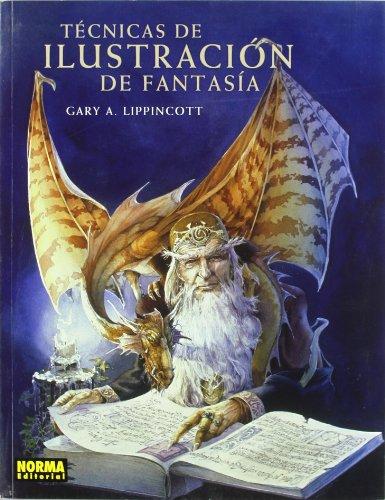 Técnicas de ilustración de fantasía Cover Image